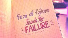 Başarısızlık korkusu nasıl atlatılır