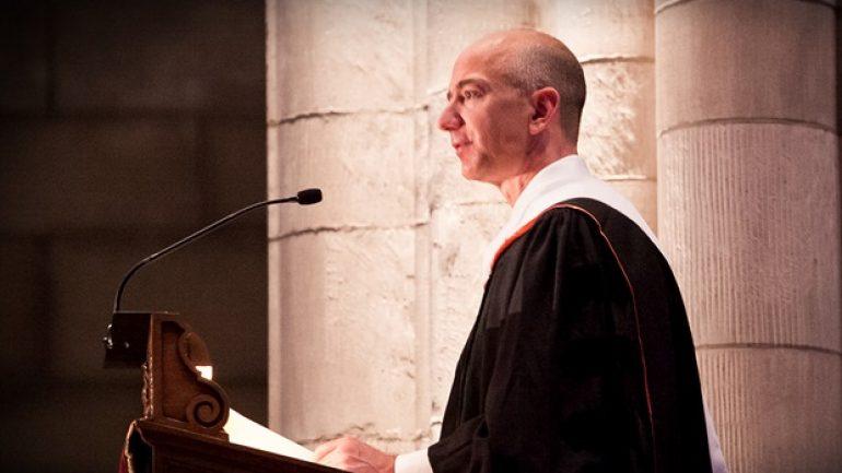 Jeff Bezos'un İlham Verici Princeton Mezuniyet Konuşması